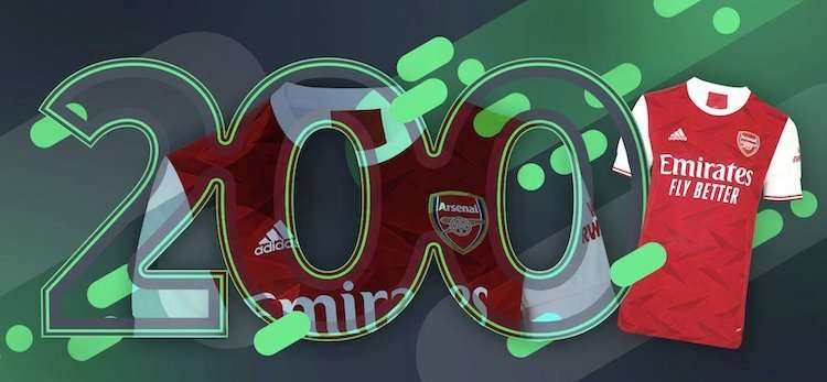 Nogometni dres FC Arsenal stavnica Sportsbet.io