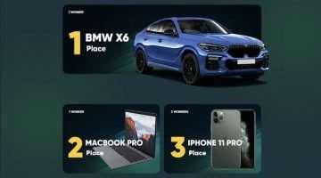 Nagradna igra Football Mania pri stavnici 22bet BMW X6